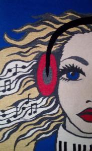 Elly Korteweg_wandkleden_vrouwengezichten